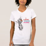 Olaf - I Love Warm Hugs Tshirt