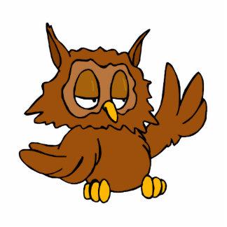 Olaf Owl Acrylic Cut Out