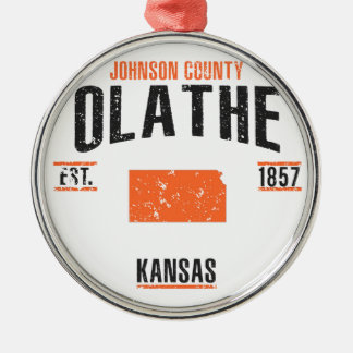 Olathe Metal Ornament