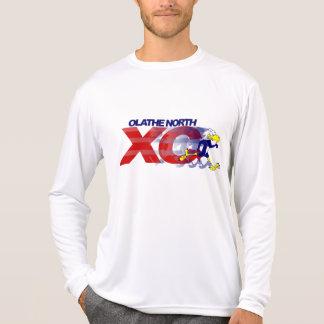 Olathe North XC Long Sleeve Micro Fiber T-Shirt