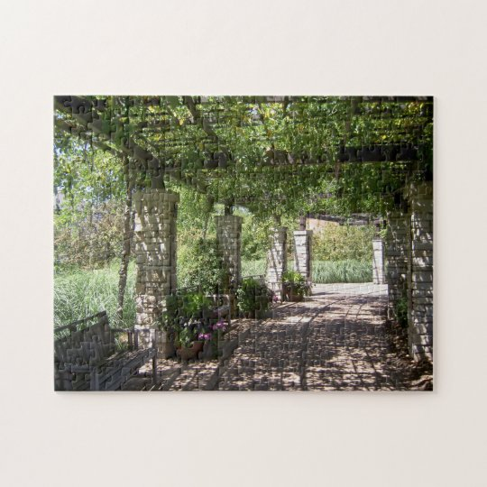 Olbrich Botanical Gardens Donor Arbor Jigsaw Puzzle