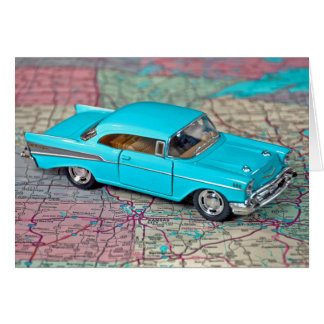 Old 1957 Chevy for Father's Day Card