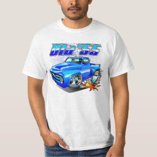 Old '55 Custom Pickup Truck Cartoon T-Shirt
