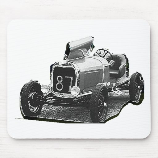 OLD 87   RACING CAR MOUSE PADS