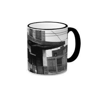 Old Abandon Building Coffee Mug