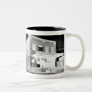 Old Abandon Building negative Coffee Mugs