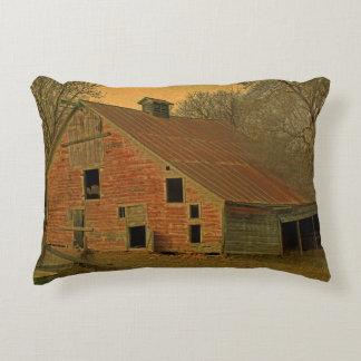 Old Abandond Barn Decorative Cushion