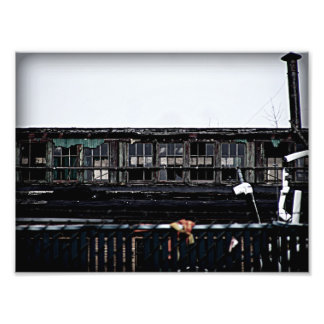 old abandoned building in Niles Michigan Photo Print