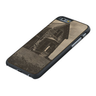 Old abandoned house 1 carved® maple iPhone 6 slim case