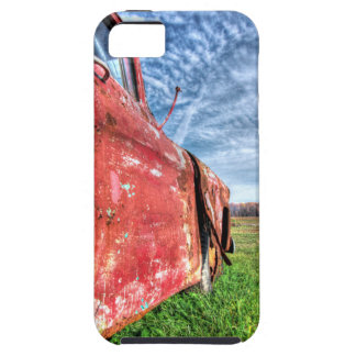 Old Abandoned red Chevy Truck iPhone 5 Cases