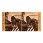 Old Abe, The Wisconsin War Eagle- Stereoview Photo Greeting Card