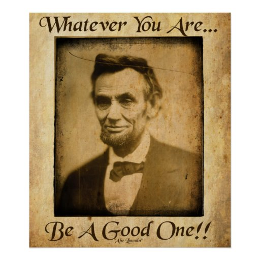 Old Abe- Whatever You Are Poster