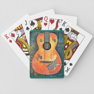 Old Acoustic Playing Cards
