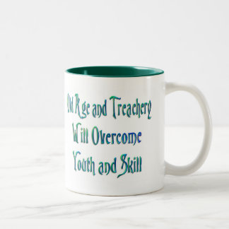 Old Age and Treachery cup