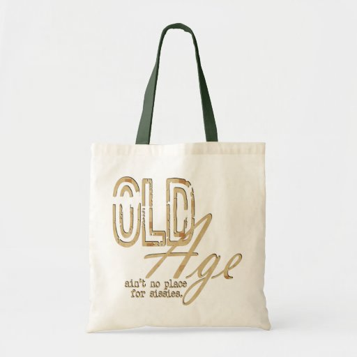 Old Age - Budget Tote Tote Bag