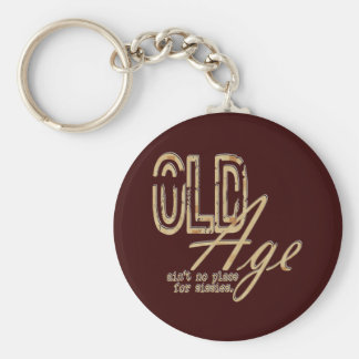 Old Age - Keychain