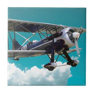 Old Airplane Ceramic Tile