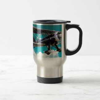 Old Airplane Travel Mug