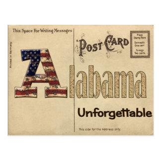 Old Alabama Postcard