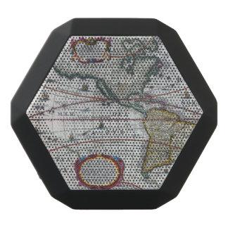 Old America Maps Black Bluetooth Speaker