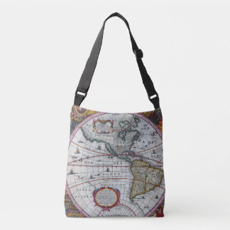 Old America Maps Crossbody Bag