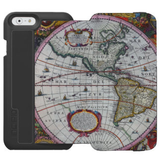 Old America Maps Incipio Watson™ iPhone 6 Wallet Case