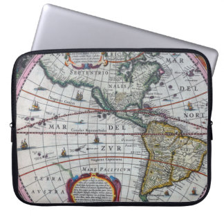 Old America Maps Laptop Sleeve