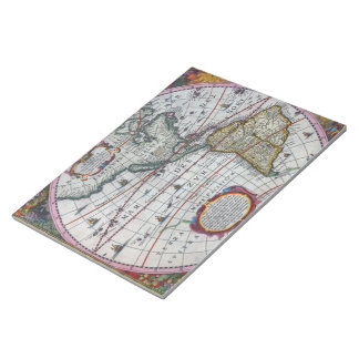 Old America Maps Notepad