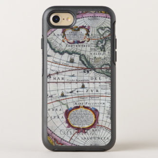 Old America Maps OtterBox Symmetry iPhone 8/7 Case