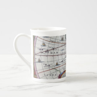 Old America Maps Tea Cup