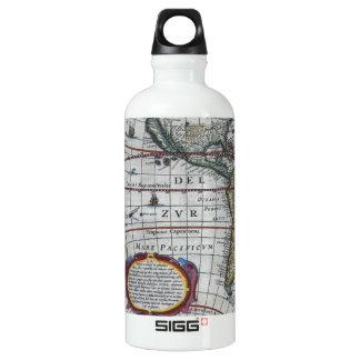 Old America Maps Water Bottle
