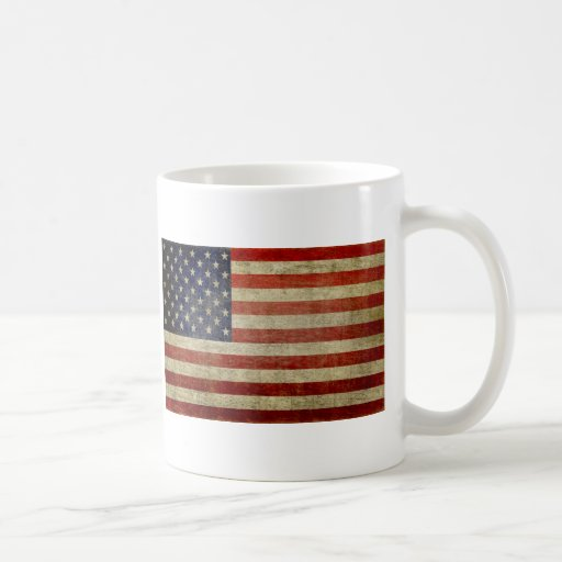 Old American Flag Coffee Mug