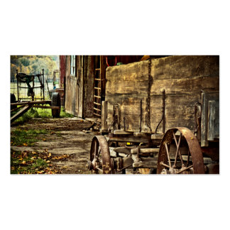 Old Amish Wagon Business Cards