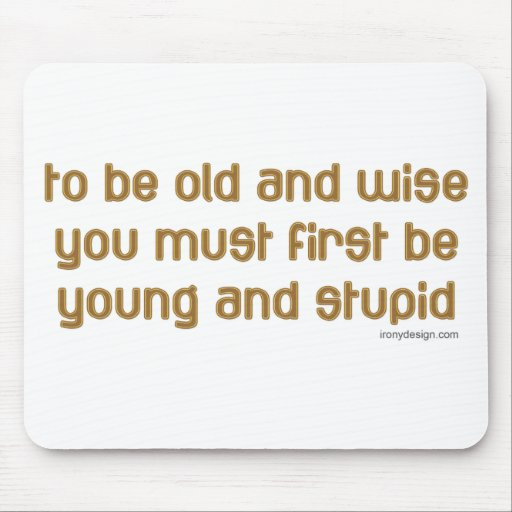 Old and Wise Mouse Pads