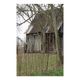 Old Antique Barn Customized Stationery