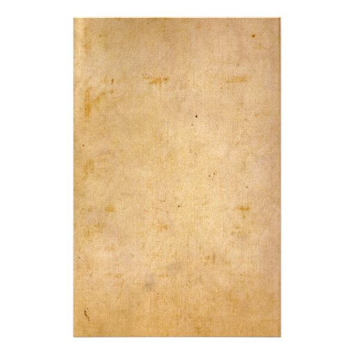 Old Antique Parchment Personalized Stationery