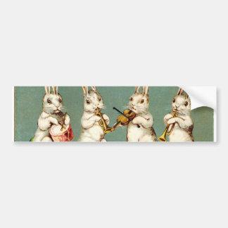 Old Antique Vintage Easter greetings Bumper Sticker