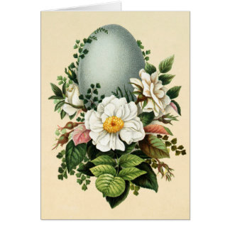 Old Antique Vintage Happy Easter wish greetings Card