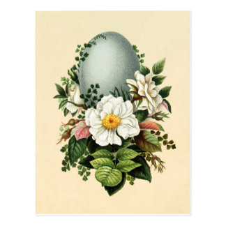 Old Antique Vintage Happy Easter wish greetings Postcard