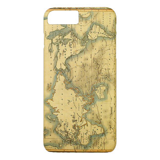 Old Antique World Map iPhone 7 Plus Case