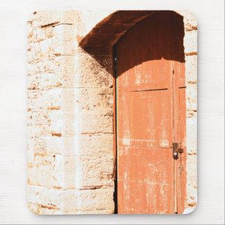 Old Arch Door mousepad