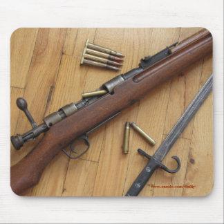 Old Arisaka rifle mousepad design