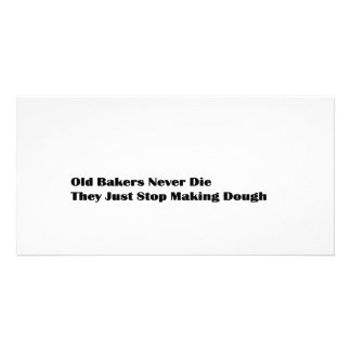 Old Bakers Photo Greeting Card