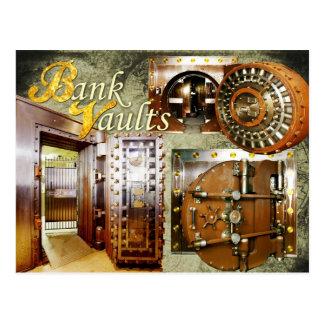Old Bank Vaults Postcard