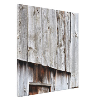 Old Barn, Abstract Canvas Print