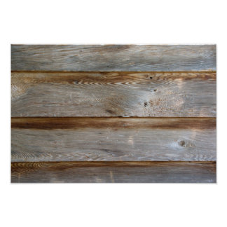 Old Barn Door Wood Photographic Print