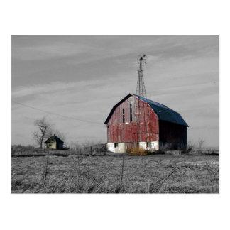 Old Barn Postcard