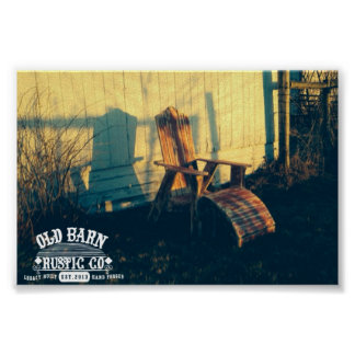 Old Barn Rustic Co. Authentic Vintage Poster