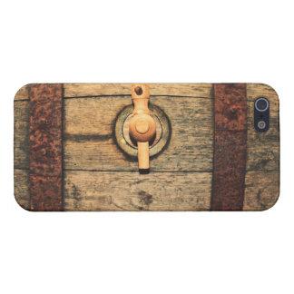 Old barrel iPhone 5 case