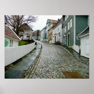 Old Bergen Museum (Norway) Poster